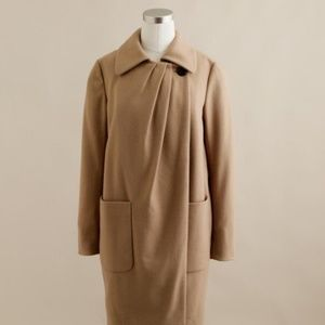 J. Crew by Nello Gori wool cashmere coat